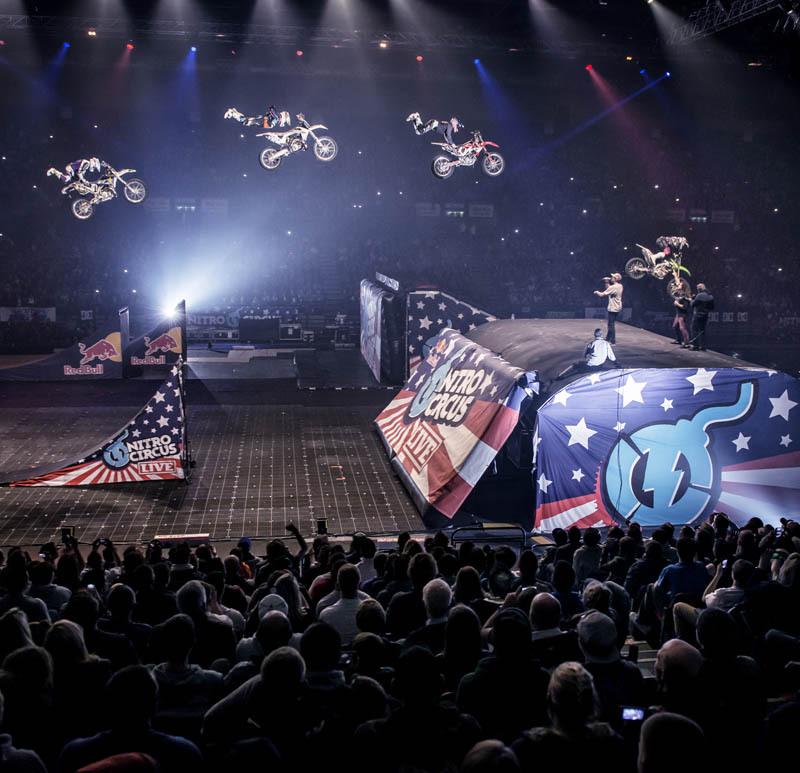 Liv On Fifth Birmingham Al: Nitro Circus Live In Birmingham, England On 5th December
